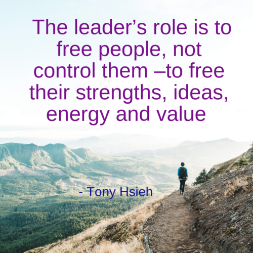 The leaders role
